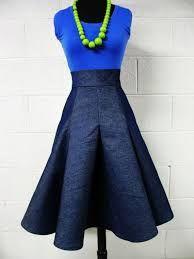 high waisted jean pencil skirt - Google Search