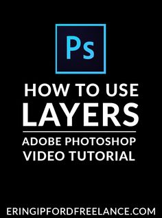 If you've been struggling with how to use layers in Adobe Photoshop, than you have come to the right place. I'll show you what you need to know so you can use layers efficiently and effectively!  Adobe Photoshop Tutorial   How To Use Layers in Photoshop   Graphic Design Tutorial