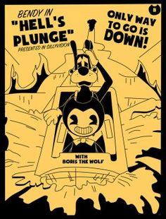 Bendy In: Hell's Plunge (Contest Entry) by Gamerboy123456
