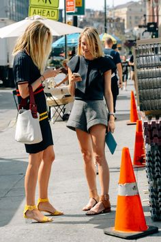E L L E S A P P E L L E: The Streets of Fashion Week: New York: Part Two