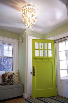 Embrace My Space:  Green Front Door