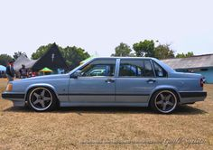 Volvo 940. Taken during Indonesia Volvo Gathering in September 2014. This car does not belong to me, i just simply take its photo.