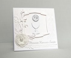 First Communion card - Scrapbook.com
