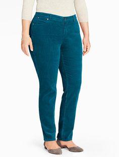 Talbots - The Flawless 5-Pocket Straight - Leg Cord | New Arrivals | Woman