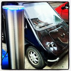 Electric car charging in Oslo Electric Charge, Electric Vehicle, Electric Car Conversion, Green Cars, Oslo, Norway, March, Vehicles, Places