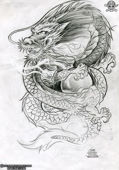 dragon chino tatuaje - Buscar con Google