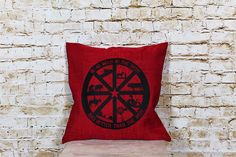 Wild West accent pillow
