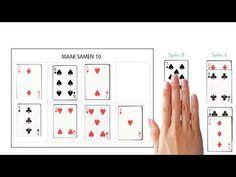 Splitsen groep 3: maak samen 10 - YouTube