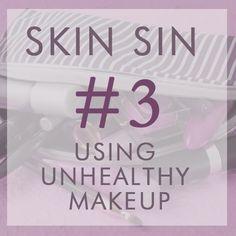 glo | Revealing Beauty: Skin Sin #3: Using Unhealthy Makeup