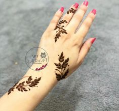 Temporary Tattoos – A Quick Guide Henna Tattoo Designs Simple, Latest Henna Designs, Floral Henna Designs, Henna Designs Feet, Mehndi Designs For Girls, Mehndi Designs For Beginners, Modern Mehndi Designs, Mehndi Designs For Fingers, Mehandi Designs