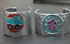 Hispanic Heritage Month Craft- Repujado Mexican Cuff Bracelet | SpanglishBaby™
