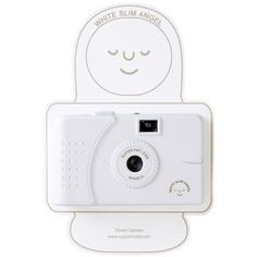 SuperHeadz: White Slim Angel (Wide Angle Lens) Camera by superheadz. $18.95. This camera really has all the elements that all film camera fanatics thrive for. You should say this camera is a wonder. On your next vacation, when you get up from bed, if it's sunny out, we want you to go outside with this camera. Don't stop taking pictures with the camera, and eventurelly you will forget all the world's problems and experience a joyful feeling. The largeness of the clear sky, th...