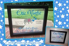Baby Announcement Floating Frame