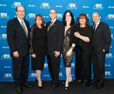 At the Anti-Defamation League (ADL) event where Larry King  honored Steven Sotloff's  parents for their 2LIVES Foundation's continuation of Steven's anti-hate reporting in conflict-torn regions of the world. Center: Shirley and Art Sotloff and Tracy Ellyn, Board member.  Please visit www.2livesfoundation.org