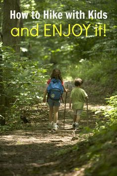 Want to try hiking with kids but not sure where to start? Here are a few tips on how to hike with kids so that you all actually have fun!