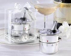 Champagne Bucket Timer Wedding Favor http://www.1weddingsource.com/store/index.php/champagne-bucket-timer-wedding-favor