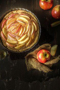 Golden Apple Tart | Sugar et al