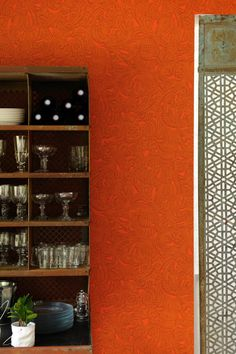 Wallcovering from Elitis, Cuirs Leather