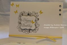 Elementary elegance stampin up card