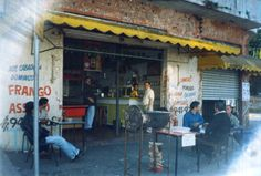 Bar da Conceição, Avenida Norberto Mayer, Vila Santa Isabel, São Paulo (em 1998) Colaborou com a foto Cacildo M. Ferreira