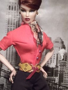 One of a kind fashion for fashion royalty and barbie silkstone