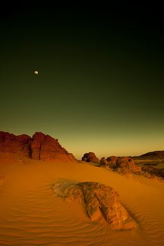Moon and sand. This feels almost mournful. Where there is sand was once an ocean that was moved by the moon.