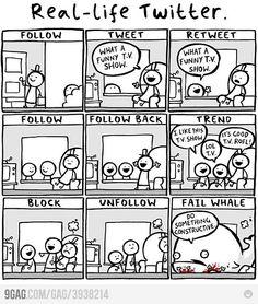 Real Life Twitter #twitter #socialmedia