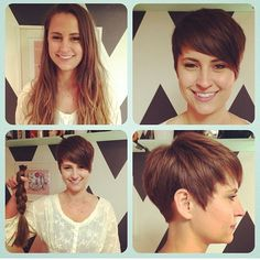 Today we have the most stylish 86 Cute Short Pixie Haircuts. We claim that you have never seen such elegant and eye-catching short hairstyles before. Pixie haircut, of course, offers a lot of options for the hair of the ladies'… Continue Reading → Celebrity Short Hair, Girl Short Hair, Short Hair Cuts, Short Hair Styles, Pixie Cuts, Cute Haircuts, Short Pixie Haircuts, Pixie Hairstyles, Hairstyles 2018