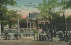 Braila - Bufetul din Gradina Monument - interbelica Post Card, Vintage Photographs, Gazebo, Outdoor Structures, History, Country, Architecture, City, Places
