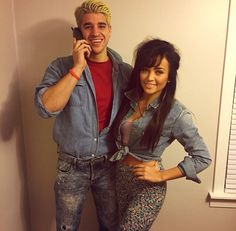 Saved by the bell - Zack and Kelly costume