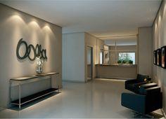 Hall de entrada Portal, Social Housing, Lobbies, Table, House, Mondrian, Furniture, Ceilings, Low Carb