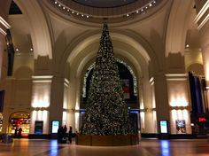 the only photo from Dresden, it was taken very early in the morning trying to get back to Cottbus. the morning of the Metronomy gig. very nice train station, very nice christmas tree! (December 2011)