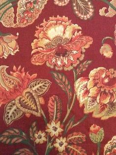Mill-Creek-Raymond-Waites-Fabric-By-The-Yard-56-034-Wide-Floral-Stain-Repellant