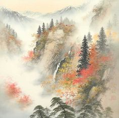 Japanese art landscape-5