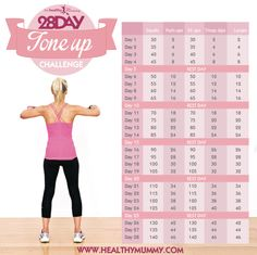 28 day tone up
