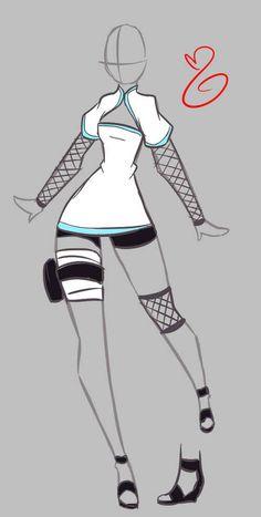 Imagem de anime, design, and girl