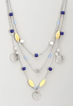 Fay 3 Strand Necklace, 9-0036050853, Fay 3 Strand Necklace Main View PDP