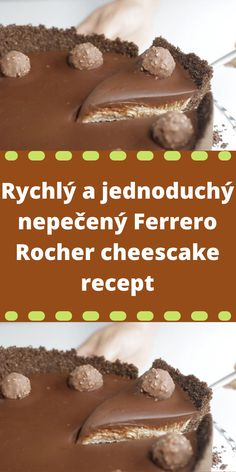 Ferrero Rocher, Cheesecake, Pudding, Beef, Desserts, Food, Candy, Meat, Tailgate Desserts