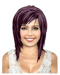 Edgy Hair Color Ideas | Same Cut Different Color : Hair Color | TheHairStyler.com