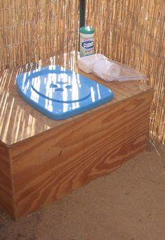 Ecovita privy kit. Urine diverter
