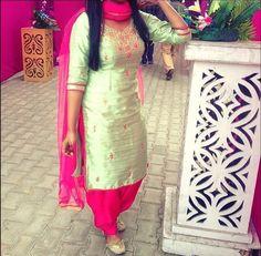 Simple Punjabi Suit                                                                                                                                                                                 More