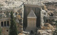 Image Of The Day - Tomb Of Zechariah - MessageToEagle.com