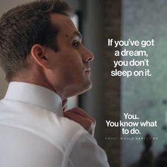 If Youve got a Dream You dont Sleep on it. Positive Motivation, Motivation Success, Study Motivation, Success Quotes, Greys Anatomy, Grey Anatomy Quotes, Words Quotes, Wise Words, Life Quotes