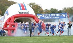 The Tuslaw Mustangs take the field to take on Tusky Valley in Week Six of the high school football season.