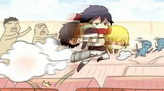 Funny moment | Attack on Titan
