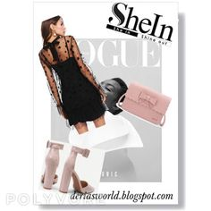 Shein 2018 Promotions-Deria' s Choices Get The Look, Choices, Promotion, Ballet Skirt, Skirts, Shopping, Style, Fashion, Swag