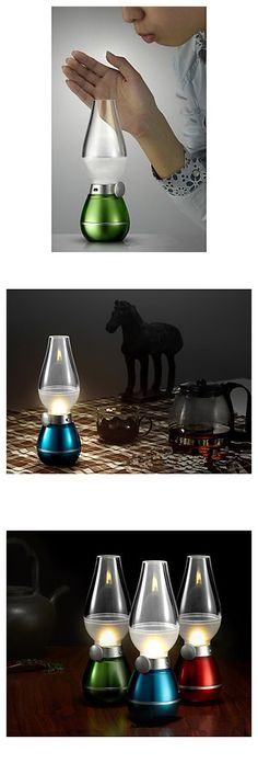 Cool blowing control LED mini light, can be a quite cool gadget for you male friends as a small gift.