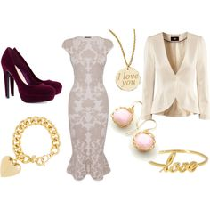 """Pink Sweetheart"" by dancingmoon on Polyvore"