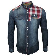 Mish Mash Sawdust Denim Shirt | Mish Mash Denim Shirt | The Vault Menswear