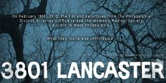 """3801lancaster"" pro-life documentary about abortionist's botched abortions in Philadelphia"